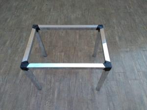 Base de mesa tubo 5 X 5 / Quadrada
