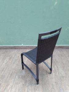 Conjunto mesa ripada c/4 cadeiras Saint Phelipe - 1.20X0.80cm