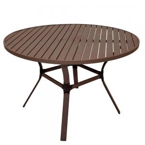 Mesa aro 70 + 4 cadeiras empilháveis