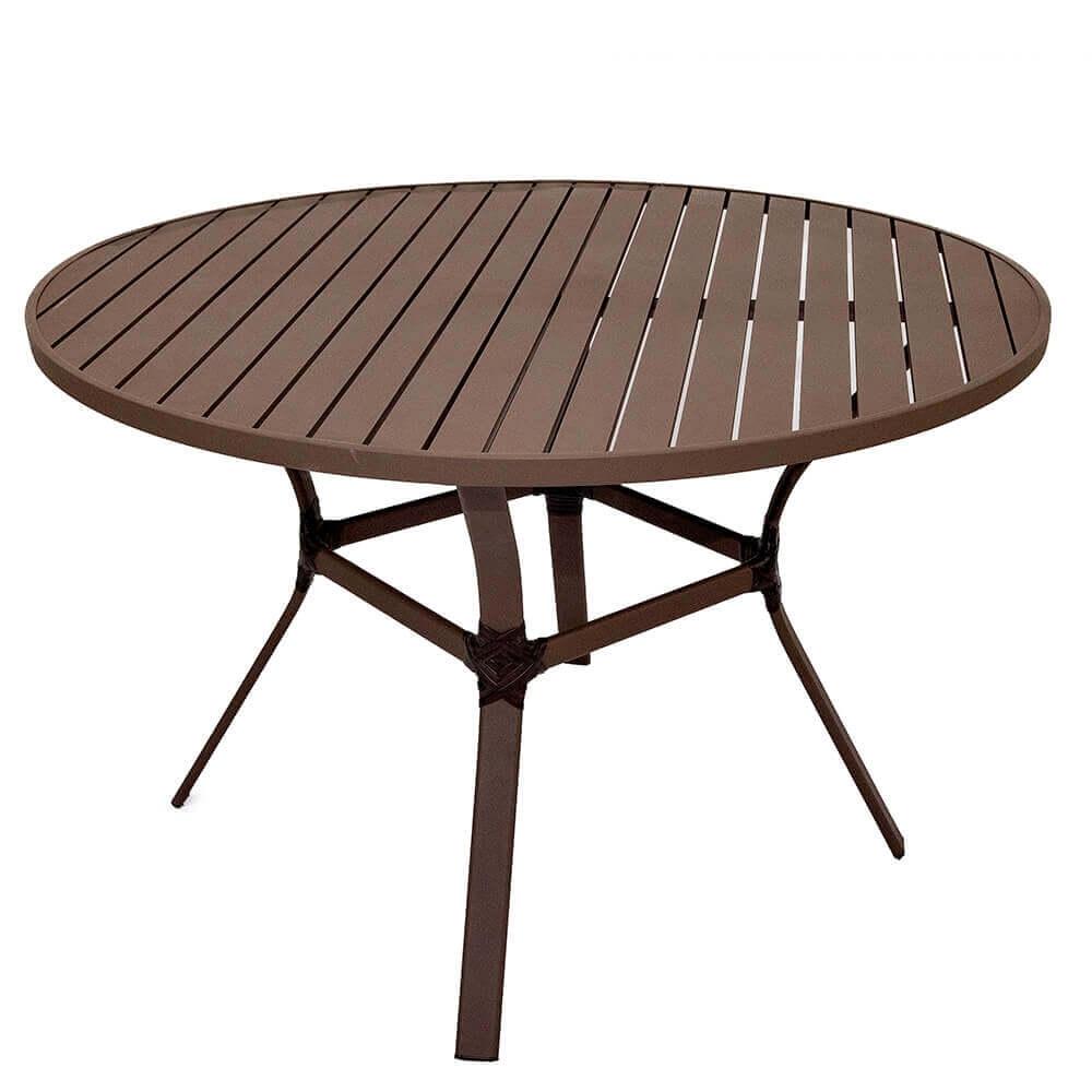Conjunto Jade encosto fechado mesa aro 60