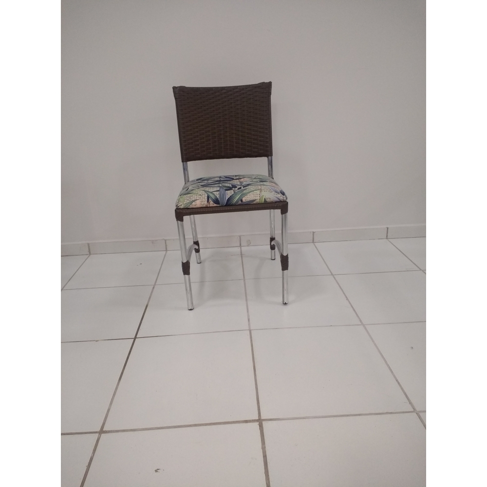 Cadeira Alpinea estofada