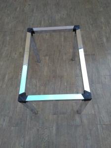 Base de mesa tubo 5x5 / Retangular