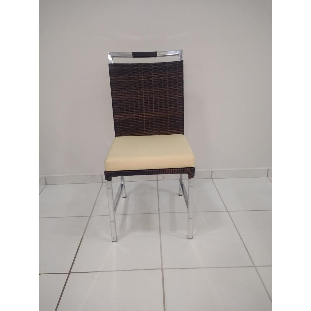 Cadeira Imperial estofada -